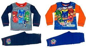 Official PJ Masks Pyjamas Pjs Pajamas Children's Kids Boys Toddlers Age 2 3 4 5