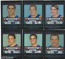 """2001 Teamcoach Silver BRISBANE Team Set (6 Cards) """" """""""