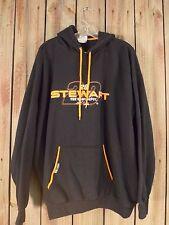 NASCAR Hoodie Tony Stewart #20 Joe Gibbs Racing Men's 2XL Black & Orange