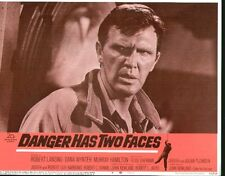 Danger Has Two Faces 11x14 Lobby Card #4
