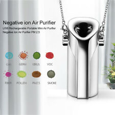Personal Air Purifier Necklace Portable Freshener Wearable USB Lonic Remover