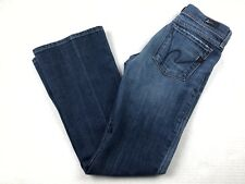 Citizens of Humanity Low Waist Flare Women's Size 27 Denim Jeans Distressed
