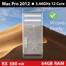 2012 Mac Pro 3.46GHz 12-Core 128GB 2TB HDD 580 Rx 4GB