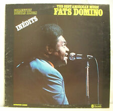 "2 x 33 tours FATS DOMINO Disques LP 12"" BEST INEDITS Jazz CARRERE 68031 RARE"