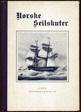 Norwegen  Schifffahrt  Norske Seilskuter  1935