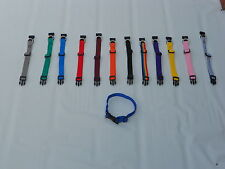 WHOLE SALE JOB LOT DOG  COLLAR. PUPPY COLLARS 13 COLOURS X 2 26 TOTAL*
