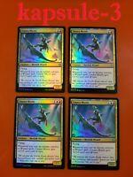 4x Umara Wizard //// Umara Skyfalls English Zendikar Rising MTG Ma Foil NM-Mint