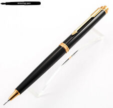 Very rare Parker Premier Push / Twist Mechanism Pencil (0.5mm) in Black-Gold