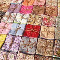 50stk Stoffpakete Patchworkstoffe Patchwork Stoffe Baumwolle Stoffreste Reste