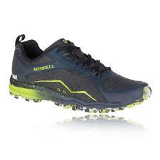 Chaussures bleus Merrell pour fitness, athlétisme et yoga