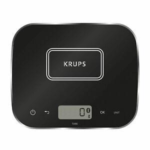 Krups XF 5548 Vernetzte Waage Küchenwaage digital Bluetooth Gramm Backwaage