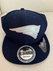 New Era New England Patriots NFL 9Fifty 950 Glow in the Dark Snapback Hat NEW