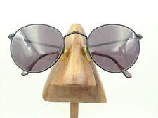 fc569781db Vintage Rare Giorgio Armani 609 706 Matte Black Metal Round Sunglasses  Frames