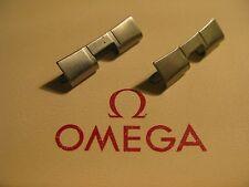 Omega Acero Inoxidable 598 X 2 enlaces final-en excelente condición no utilizado