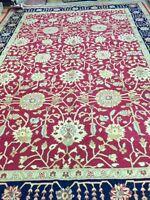 "9'10"" x 13'7"" New Pakistani Peshawar Oriental Rug - Hand Made Veg Dye 100% Wool"