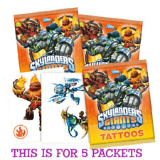 Topps Skylanders Giants Tattoos - 5x Sealed Random Packets