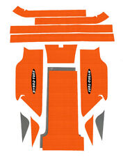 Yamaha WaveBlaster 800 Hydro-turf Mat Kit Black Cut Groove wave Blaster HT742