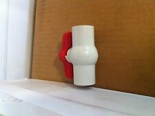 "Matco PVC Ball Valve 1/2"" Threaded PVC 150psi Irrigation NSF Compact Sch. 40"