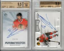 MARCUS KRUGER 2 CARD LOT SP AUTH. PANINI BOTH AUTO