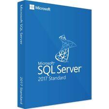 Microsoft SQL Server 2017 Standard 64-bit Original