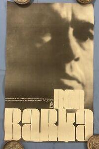 """Original 1960s Ben Barka Political OSPAAAL Poster 21"""" x 13"""" Rare"""