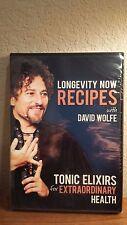 Longevity Now Recipes Toxic Elixirs Extraordinary Health DVD David Wolfe 2012