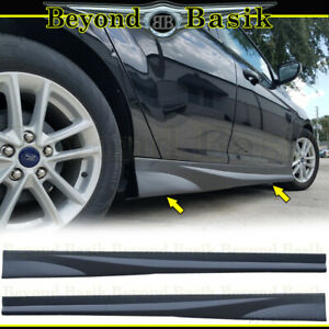 2012 2013 2014 2015 2016 2017 2018 Ford Focus NEFD Style SIDE SKIRTS Body Kit