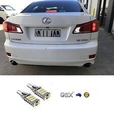 New T15 LED Reverse Light 6000K For Lexus IS250 IS350  2005-2013  2pc 12v Bright