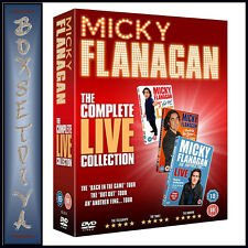 MICKY FLANAGAN THE COMPLETE LIVE COLLECTION   *BRAND NEW DVD BOXSET **