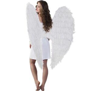 XXL Federflügel große weisse Engelsflügel 120 x 120cm riesige Engel Riesenflügel