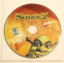 Shrek 2 PC Game Disk And Sleeve By Activision CD Rom