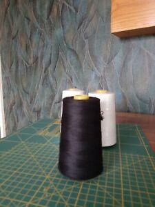 Black sewing thread 5000 yard spool