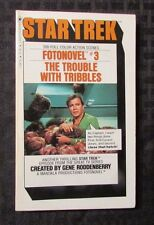 1977/78 STAR TREK Trouble With Tribbles LOT of 2 Fotonovel #3 & Del Rey 8th Ed.