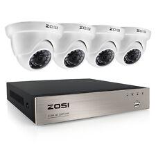 ZOSI 8CH 1080N TVI DVR 1500TVL Outdoor Home Surveillance Security Camera System