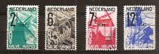 Nederland - 1932 - NVPH 244-47 - Gebruikt - NO157