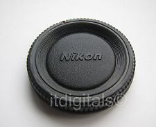 Body Cap For Nikon N4004 QD F801 N8008 F401s N4004s F50 Safety Glass Dust Cover