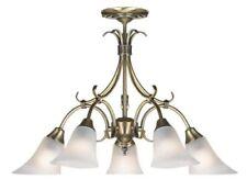 Steel Electric/Corded 4-6 Ceiling Lights & Chandeliers