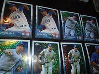 2015 Topps Update Chrome 8 Pulsar Lot Texas Rangers Josh Hamilton + More