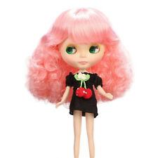 Blythe Accessory Doll Wig  9.5-11Inch 25-28cm Japan Original B-136 Neon Pink