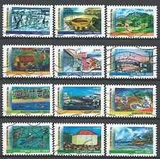 "˳˳ ҉ ˳˳FR45 France ""Overseas Territories"" Art 2011 complete set 12 used"