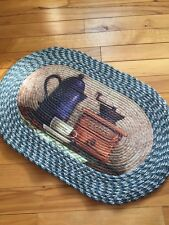 Braided Classic Coffee Break Kitchen Accent Throw Small Area Rug Country Decor