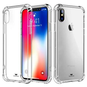 WHIZTEK iPhone 7 8 Case. Ultra Slim Clear Case Protector with Reinforced Corners