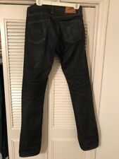 Rogue Territory Stanton Slim Straight Men's Selvedge Jeans 31