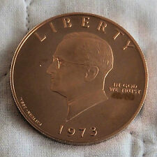 Harry Truman S 1973 RAME PROVA ESSAI PATTERN DOLLAR-CONIO 50