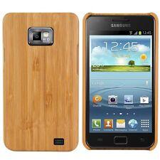 Mobile legno guscio protettivo per Samsung Galaxy s2 s2 Plus legno di bambù Natura Hard