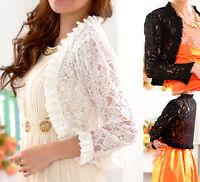Ladies womens blouse cardigan dress coat jacket UK size 10 12 14 16 18 20 #4179