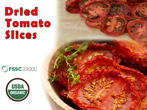 Organic Dried Tomato Slices From Ceylon