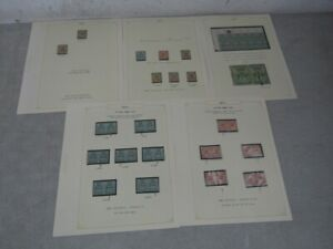 Nystamps British Jamaica mint old War stamp & error collection Album page Rare
