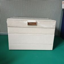 Stackers Jewellery Box In Taupe. 4 Layers. Top Layer With Lid. BNIB. Christmas.