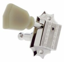 NEW - Grover 135N 3X3 Vintage Style Tuners, Keys for Gibson® Les Paul - NICKEL